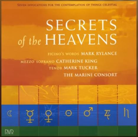 Secrets of the Heavens CD – £10