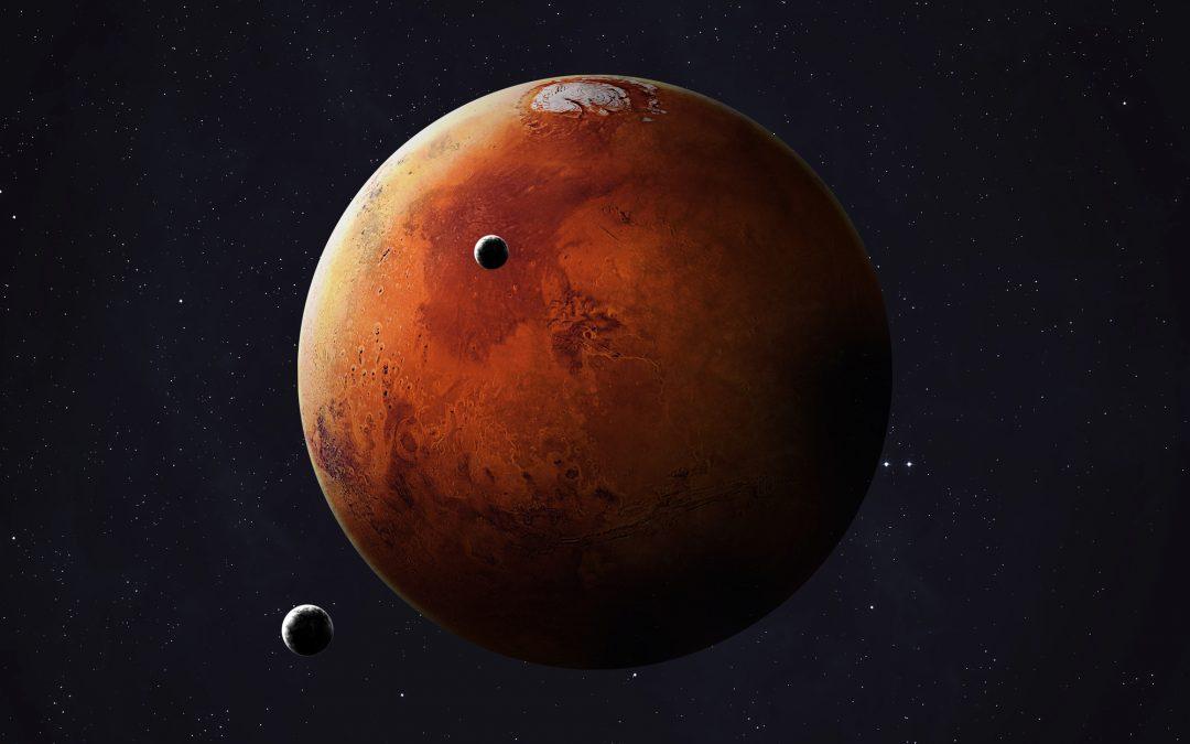 Night Sky Mars