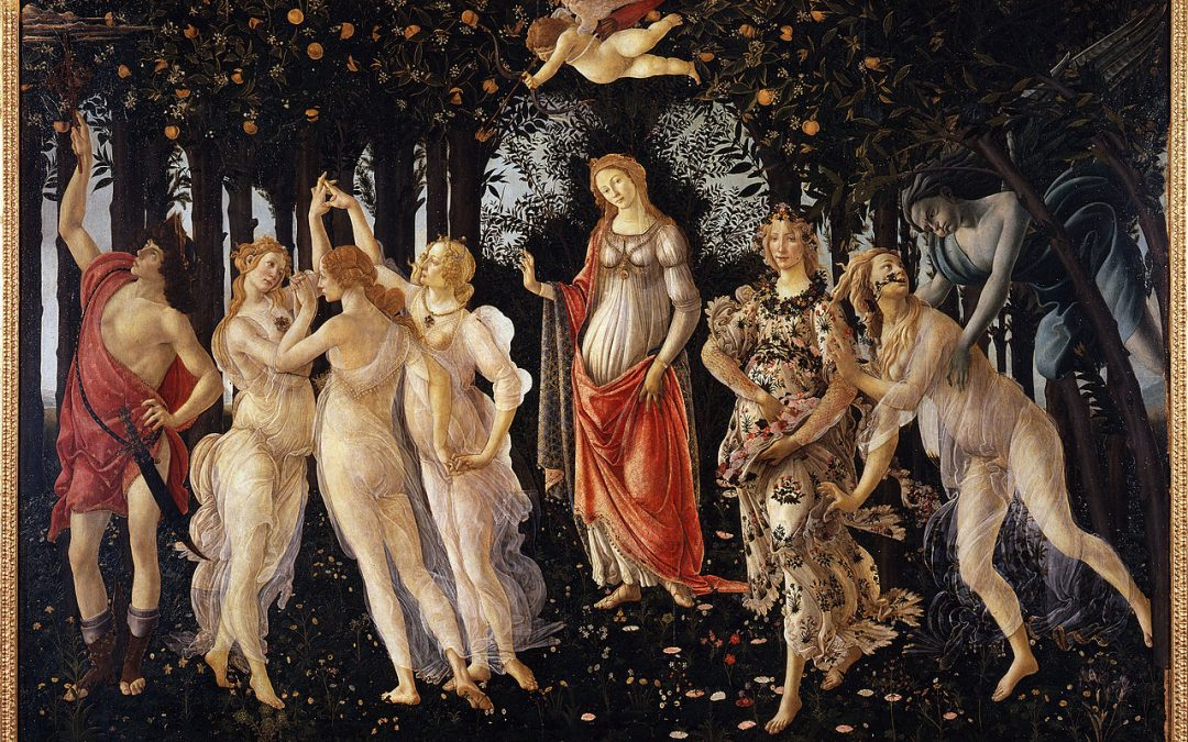 Botticelli Primavera with Angela Voss and Mary Attwood – £15 – DOWNLOAD