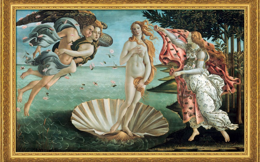 Botticelli's 'The Birth of Venus' with Mary Attwood and Angela Voss – 27 June 2021 – 10am-12 noon (UK time) – via Zoom – £15
