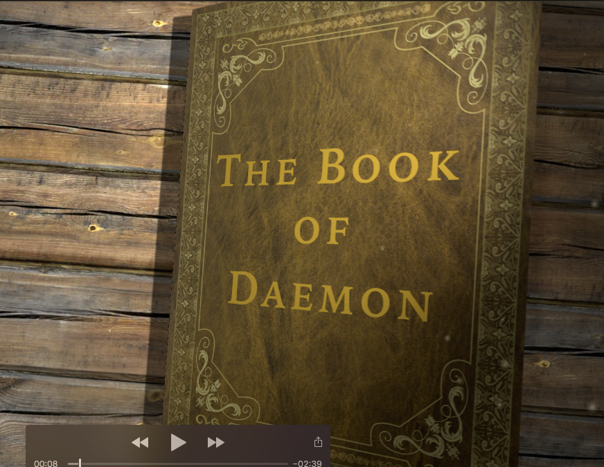 'The Book of Daemon' – a digital book by Sinéad Fitzgerald